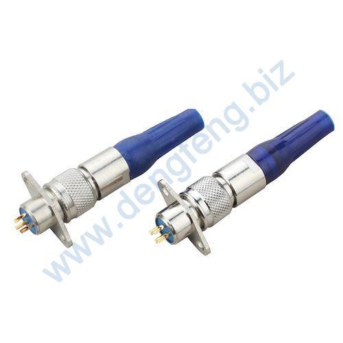 医疗通讯插头插座 MT8菱形系列2T-4T