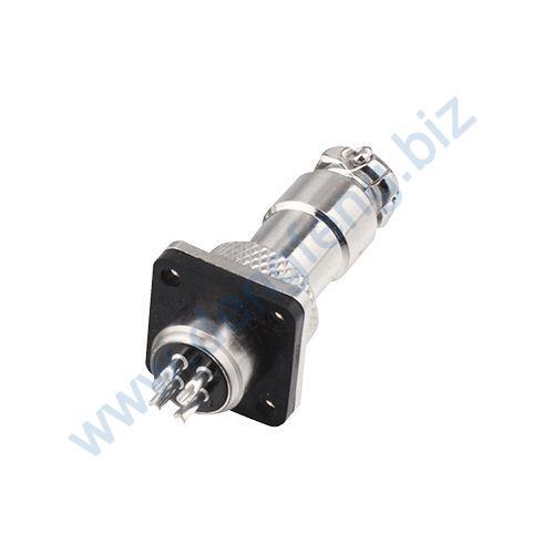 圆形连接器 RS765-12系列(内芯小胶木方螺口式)2T-7T