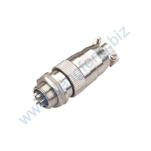 航空插头插座 XS12系列2T-8T圆螺口式