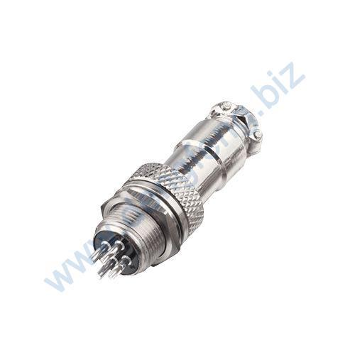 圆形连接器 RS765-12系列(内芯小胶木圆螺口式)2T-7T
