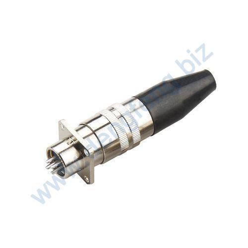 航空插头插座 XS12系列2T-8T 圆螺口T形护套