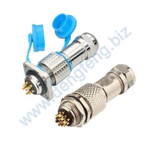 电子连接器 DF16G系列(防水插头)2T-12T