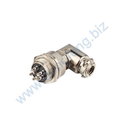 圆形电缆连接器 YL1-16圆弯式