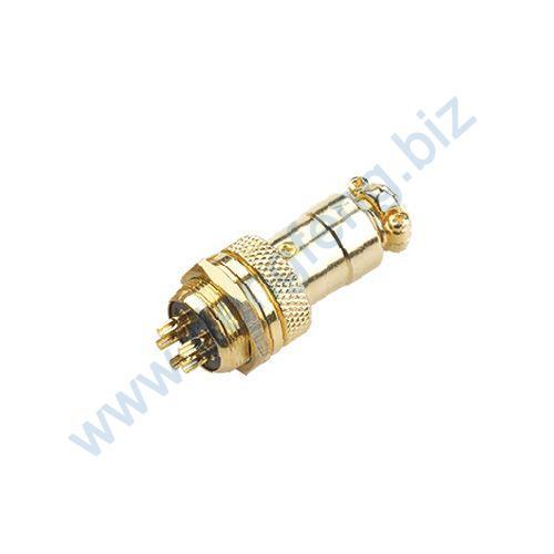 圆形电缆连接器 壳体镀金