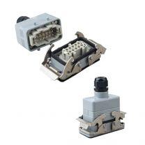 重载连接器 直式10芯